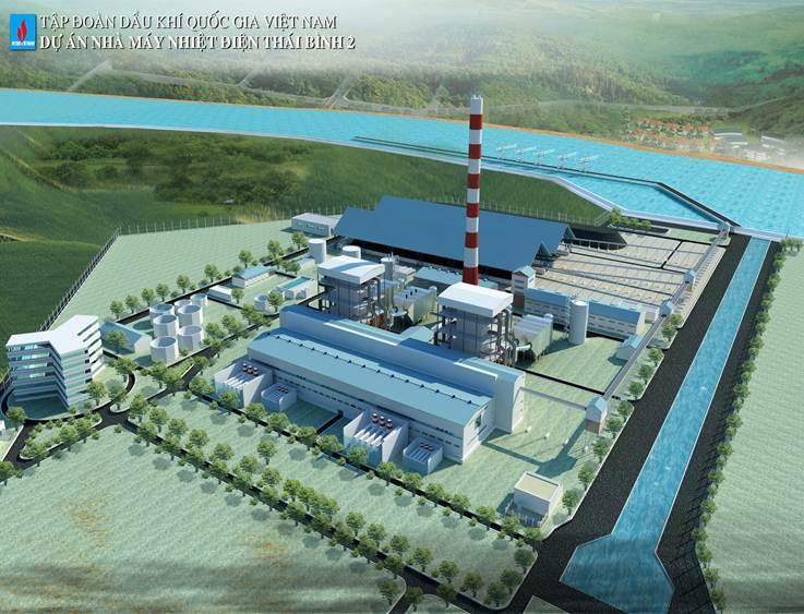 Dự án Xử lý nền khu vực kho than nhà máy Nhiệt điện Thái Bình 2