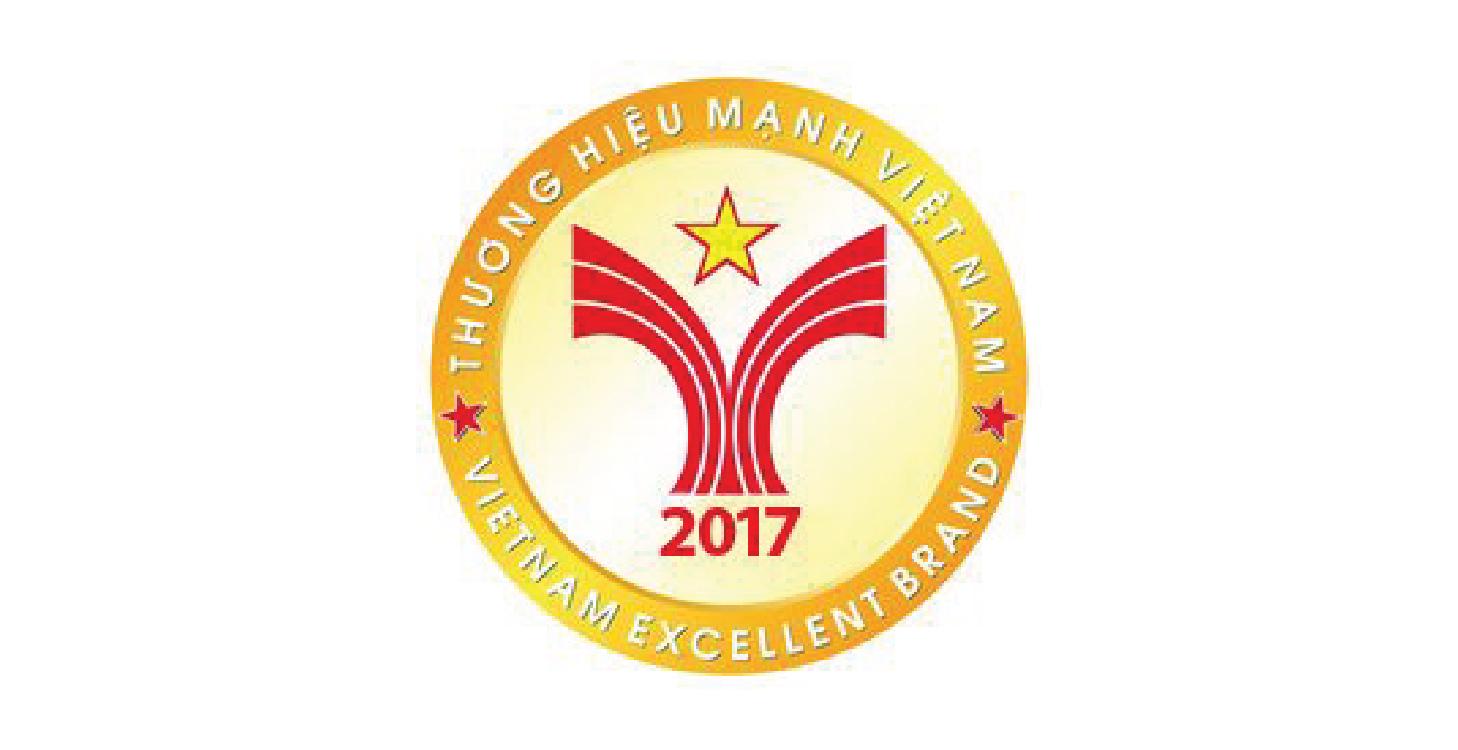 Giải thưởng Thương hiệu mạnh năm 2017