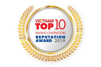Giải thưởng Top 10 Nhà thầu xây dựng uy tín 2019