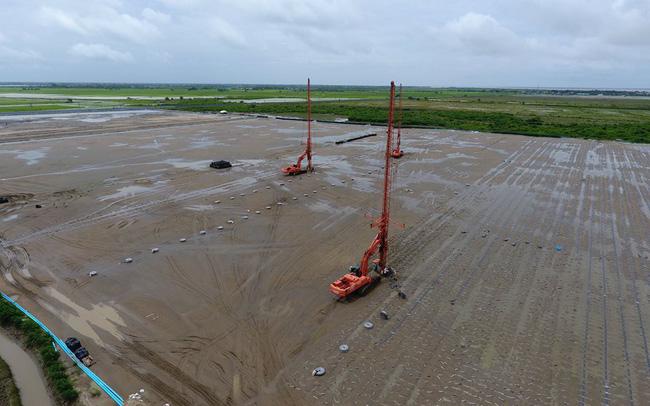 FECON thi công bấc thấm tại dự án Mở rộng cảng Thilawa (Myanmar)