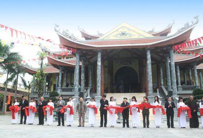 FECON tài trợ 5 tỷ đồng xây dựng Đền thờ liệt sỹ huyện Ý Yên, Nam Định