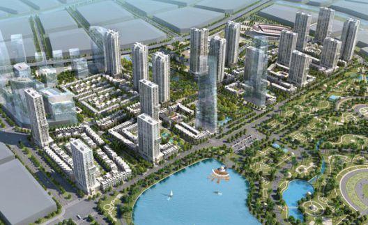 Dự án The Manor Central Park Hoàng Mai
