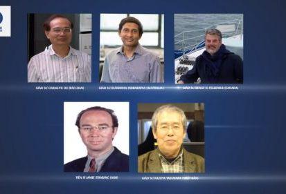 5 giáo sư hàng đầu thế giới sẽ tham dự Hội nghị GEOTEC HANOI 2016