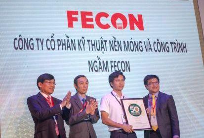 FECON lần thứ 4 liên tiếp có mặt trong danh sách