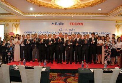 FECON bắt tay RAITO (Nhật Bản) thành lập công ty địa kỹ thuật tiên tiến tại Việt Nam