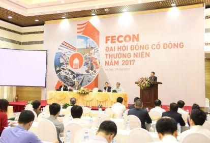 ĐHCĐ FECON 2017: Dự kiến doanh thu năm 2017 đạt 2800 tỷ đồng, tăng trưởng 30%