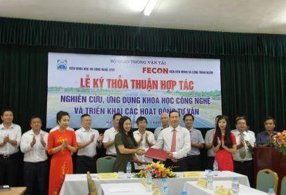 FECON INS ký kết thỏa thuận hợp tác với Viện Khoa học & Công nghệ GTVT