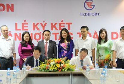 Hợp tác toàn diện với TEDI PORT, FECON muốn gia tăng năng lực trong hạ tầng đường thủy