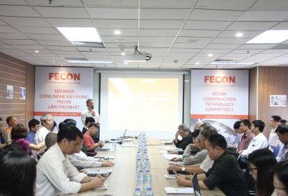 FECON tổ chức Hội nghị Công nghệ xây dựng lần thứ nhất