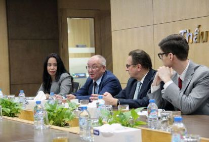 Đại sứ Belarus kết nối doanh nghiệp nước này với FECON trong lĩnh vực công trình ngầm