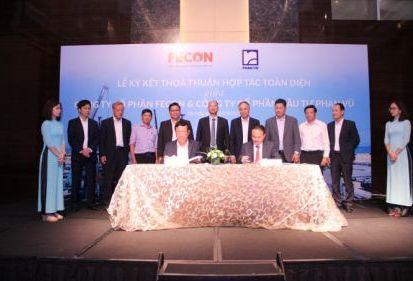 Thông cáo báo chí: FECON ký kết thỏa thuận hợp tác toàn diện với Công ty CP Đầu tư Phan Vũ