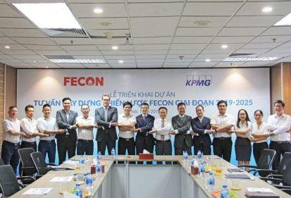 FECON lựa chọn KPMG là đơn vị tư vấn chiến lược giai đoạn 2019 – 2025