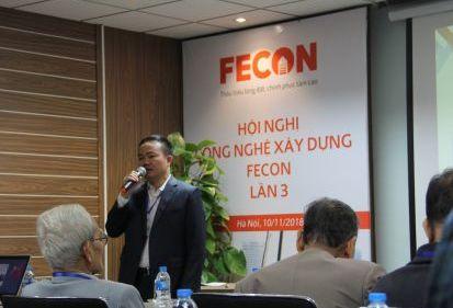 FECON tổ chức Hội nghị Công nghệ Xây dựng lần 3