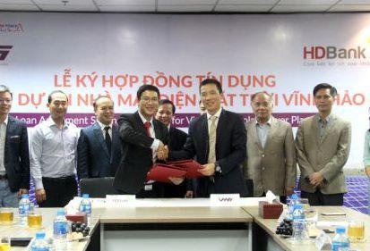 Dự án Nhà máy điện mặt trời Vĩnh Hảo 6 được tài trợ tín dụng bởi HDBank