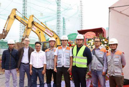FECON tham gia khởi công gói thầu thứ 2 tại dự án Mỹ Đình Pearl - giai đoạn 2