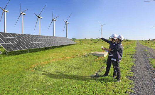 Nhà máy điện gió Quốc Vinh - Sóc Trăng