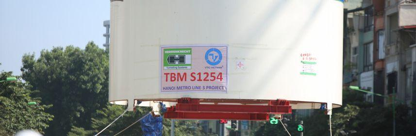 FECON đảm nhiệm vai trò nhà thầu tham gia lắp ráp và vận hành robot khoan hầm tại Dự án Metro Line 3 Hà Nội