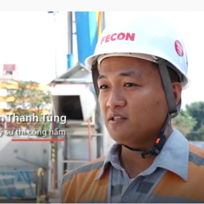 Lắp đặt robot đào hầm đường sắt Nhổn - ga Hà Nội