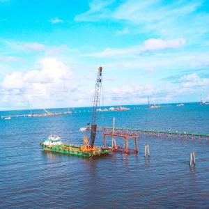 FECON đẩy mạnh tiến độ thi công các dự án điện gió