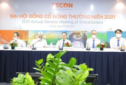 ĐHĐCĐ FECON 2021: Tự tin doanh thu 3.900 tỷ đồng, dự kiến phát hành 32 triệu cổ phiếu tăng vốn