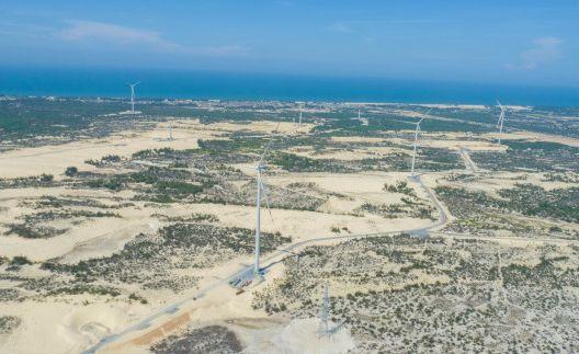 Cụm trang trại điện gió B&T Quảng Bình