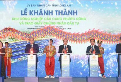 FECON hoàn thiện gói thầu hạ tầng tại Dự án KCN Cầu cảng Phước Đông