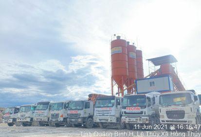 FPL đổ móng trụ cuối tại dự án Cụm trang trại điện gió B&T Quảng Bình