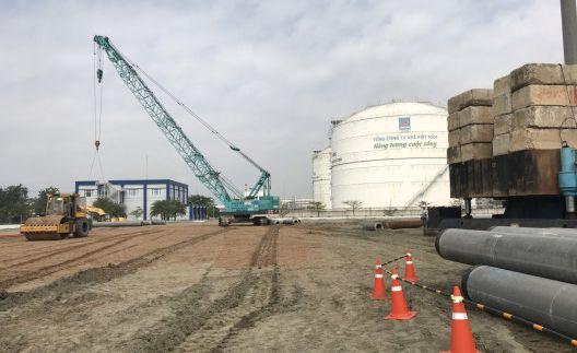 Kho chứa LNG tại Thị Vải