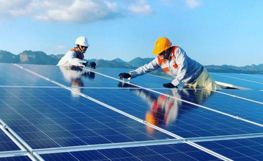 Nhà máy điện mặt trời Vĩnh Hảo 6