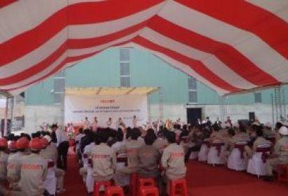Khánh thành nhà máy sản xuất cọc bê tông dự ứng lực FECON Nghi Sơn