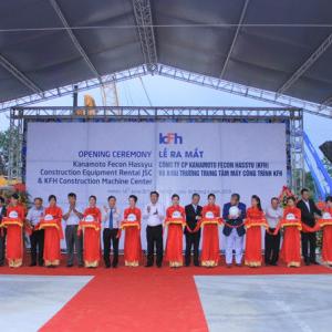 Khai trương trung tâm máy công trình lớn hàng đầu Việt Nam