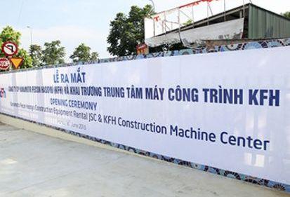 Doanh nghiệp Việt-Nhật hợp tác cho thuê thiết bị công trình ngầm, hạ tầng