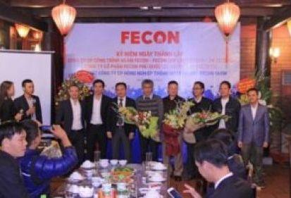 Tưng bừng sinh nhật 3 công ty và chào mừng sự ra đời công ty mới trong hệ thống FECON