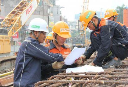 Metro line 3 Hà Nội: FECON hoàn thành Giai đoạn 1 hạng mục D-wall ga S10