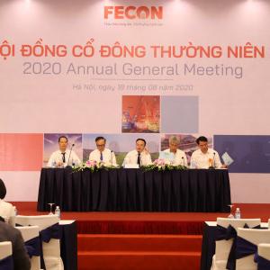 Đại hội cổ đông FECON 2020: Đặt đích tăng trưởng doanh thu gần 30%, hợp nhất khoảng 4.000 tỷ đồng