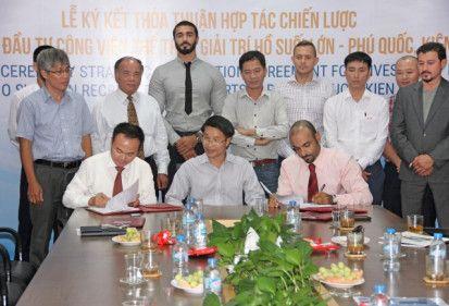 FECON và quỹ Vault (UAE) ký kết thỏa thuận nghiên cứu đầu tư công viên giải trí tại Phú Quốc