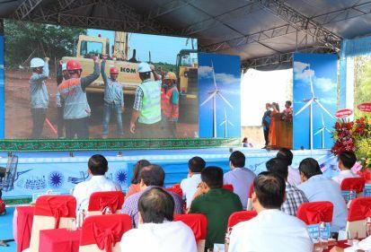 FECON tham gia thi công 2 dự án điện gió do UPC và AC Energy đầu tư